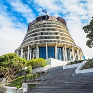 Das Parlament Von Neuseeland