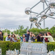 Mini-Europe, the EU's most beautiful monuments in Brussels