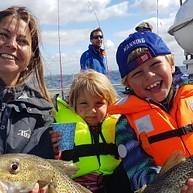 Deep Sea fishing in Öresund