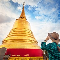 Wat Saket And Phu Khao Thong (The Golden Mount)