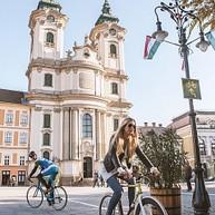 Biking- in town