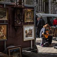 Brocantiek en feest Bij Sint-Jacobs