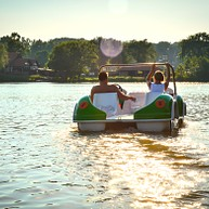 Boating Corcoran Pond
