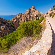 Calanques de Piana Cliffs