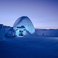 The Ice Hotel in Jukkasjärvi