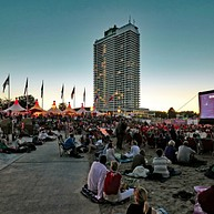Cinema under the Baltic sky