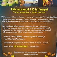 Höstmarknad i Kristianopel