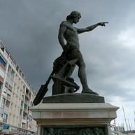 Cuverville Statue