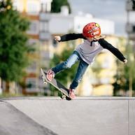 Skate and parkourpark