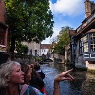 Bruges by boat