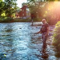 The Mörrum river - Mörrums Kronolaxfiske