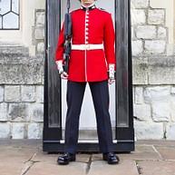 白金汉宫的卫兵换岗仪式