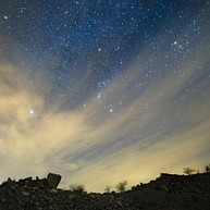 Meteor Watching in August