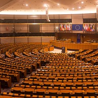 The European Parliament hemicycle