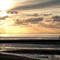 El mar de Frisia de Hamburgo