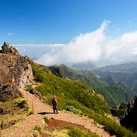 Pico Do Areeiro And Pico Ruivo