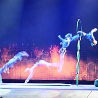 Le spectacle acrobatique du théâtre Chaoyang.