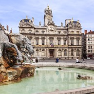 La Place des Terreaux/Bartholdi Fountain