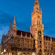 Neues Rathaus og klokkespill