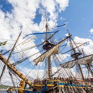 Корабль «Остиндиефарарен» (Ostindiefararen)