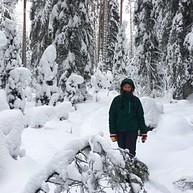 冬季仙境远足