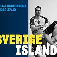 Międzynarodowe Mistrzostwa Piłki Ręcznej: Szwecja-Islandia