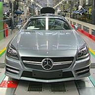 Werkbesichtigung Mercedes-Benz