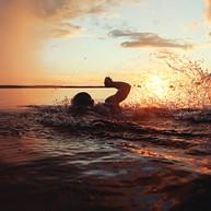 Swimming (Balaton-átúszás)