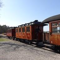 Travel by train on Gotland