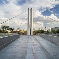 Soleri Bridge and Plaza