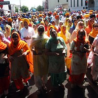 Desfile del templo sij de Stockton (abril)