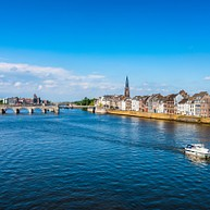 Maastricht from the water