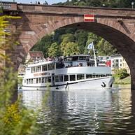 Weisse Flotte Heidelberg (flota blanca)