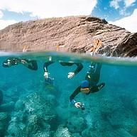 Le sentier sous marin