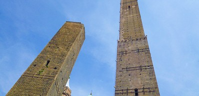 Torre Degli Asinelli og Torre Della Garisenda