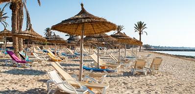 La plage Sidi Maharès