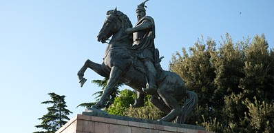 Skanderbeg Statue
