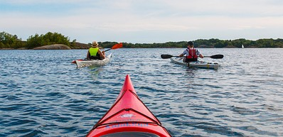Kayak festival at Tjärö