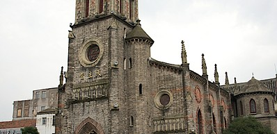 Jiangbei Catholic Church / 天主堂