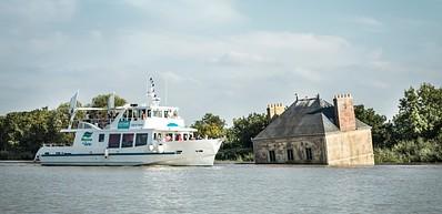 """In batello, sulla Loira """"Estuaire Nantes-Saint Nazaire"""""""