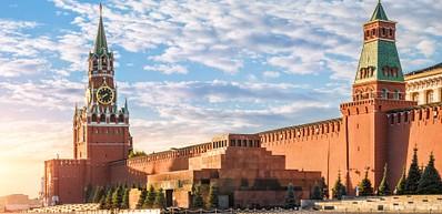 La Place Rouge et le Mausolée de Lénine