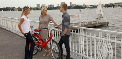 Bike tours around Hamburg