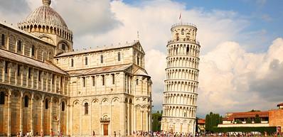 Torre Pendente (Det skjeve tårnet i Pisa)