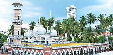 嘉美克清真寺 (Masjid Jamek Mosque)