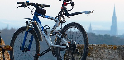 Winter Mountain Biking