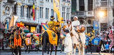 Ommegang, Carlo V ritorna a Bruxelles