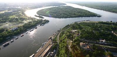 Le Danube et La Sava