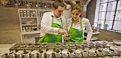 Tee und Kaffee Verkostung in der Speicherstadt
