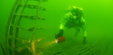 Plongée sur épave dans l'archipel de Karlskrona!