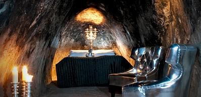 Salas Gruvsvit (Подземный номер-люкс на руднике Сала)